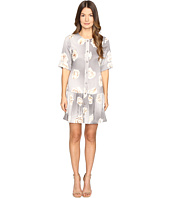 Boutique Moschino - Silk Floral Button Up Dress