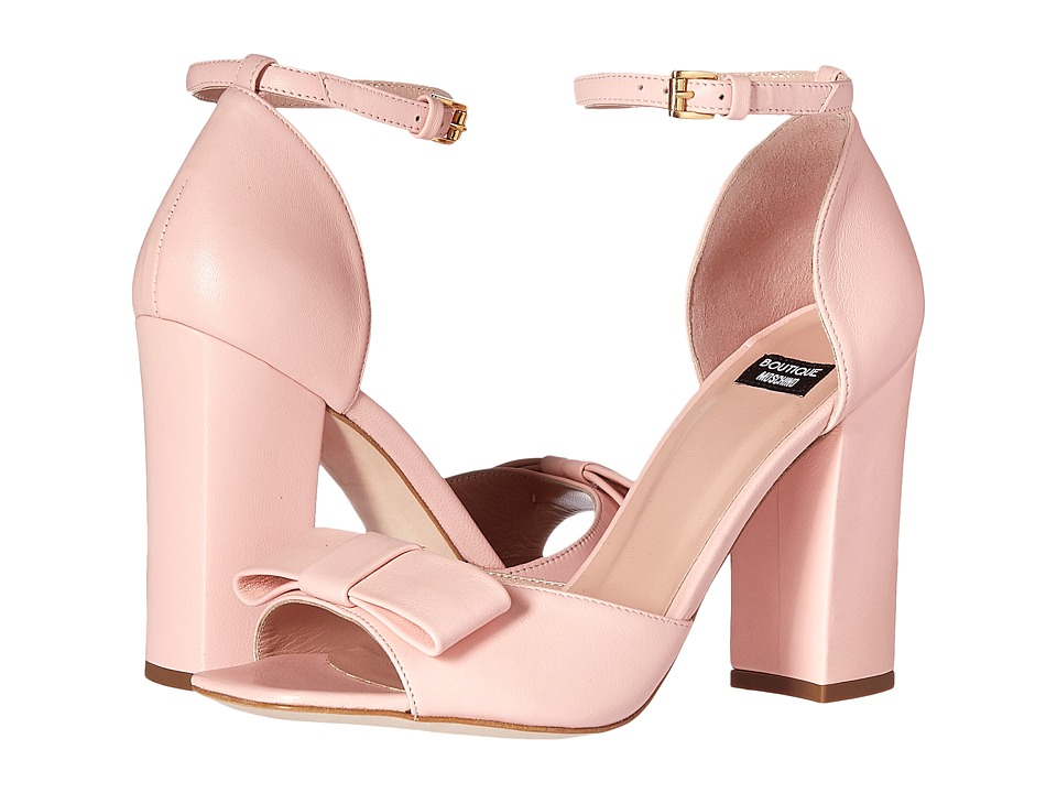 Boutique Moschino - Ankle Strap Heel with Bow