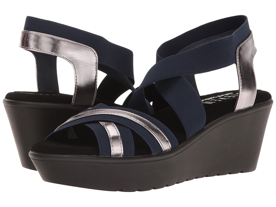 Steven Natural Comfort Bila (Navy Multi) Women