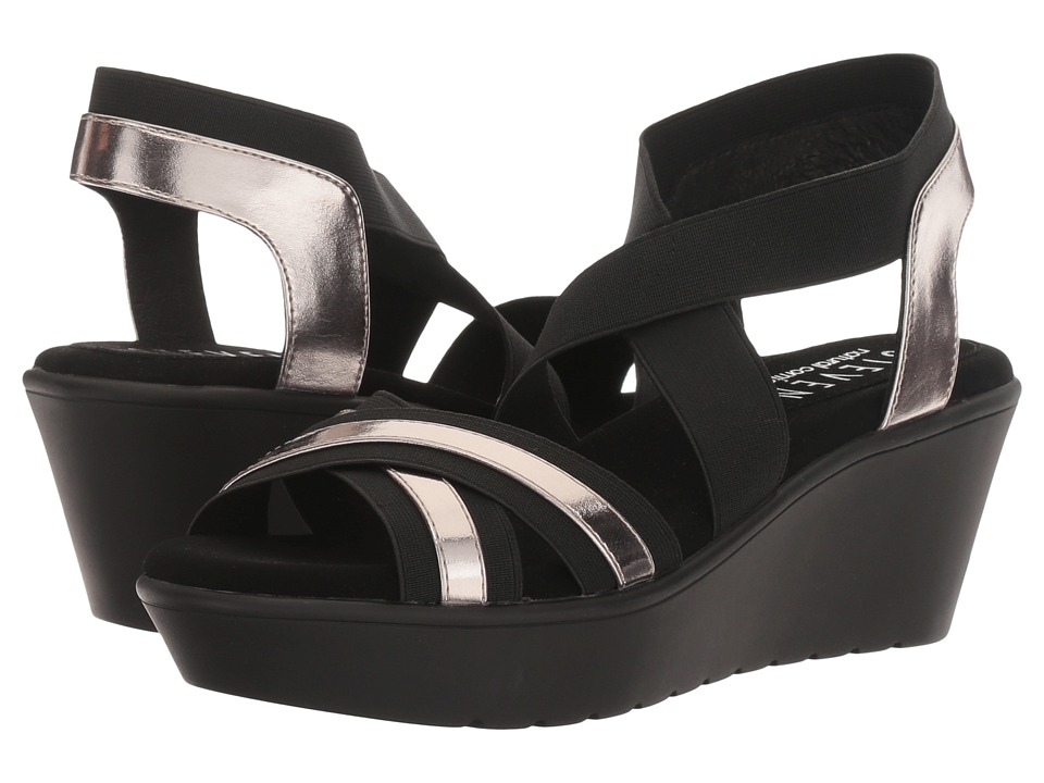 Steven Natural Comfort Bila (Black Multi) Women