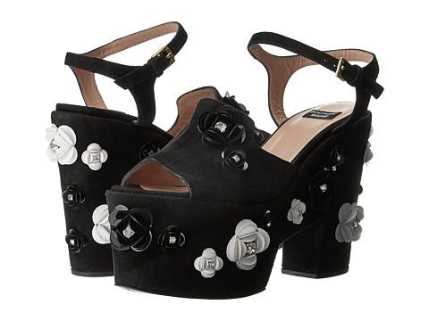 Boutique Moschino Embellished Platform Sandal