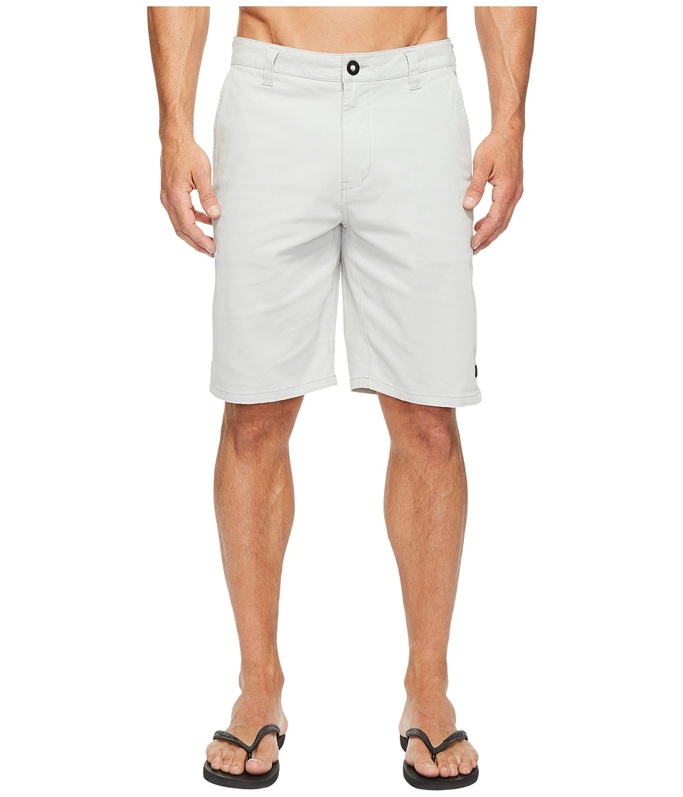 Rip Curl Epic Stretch Chino Walkshorts (Medium Grey) Men