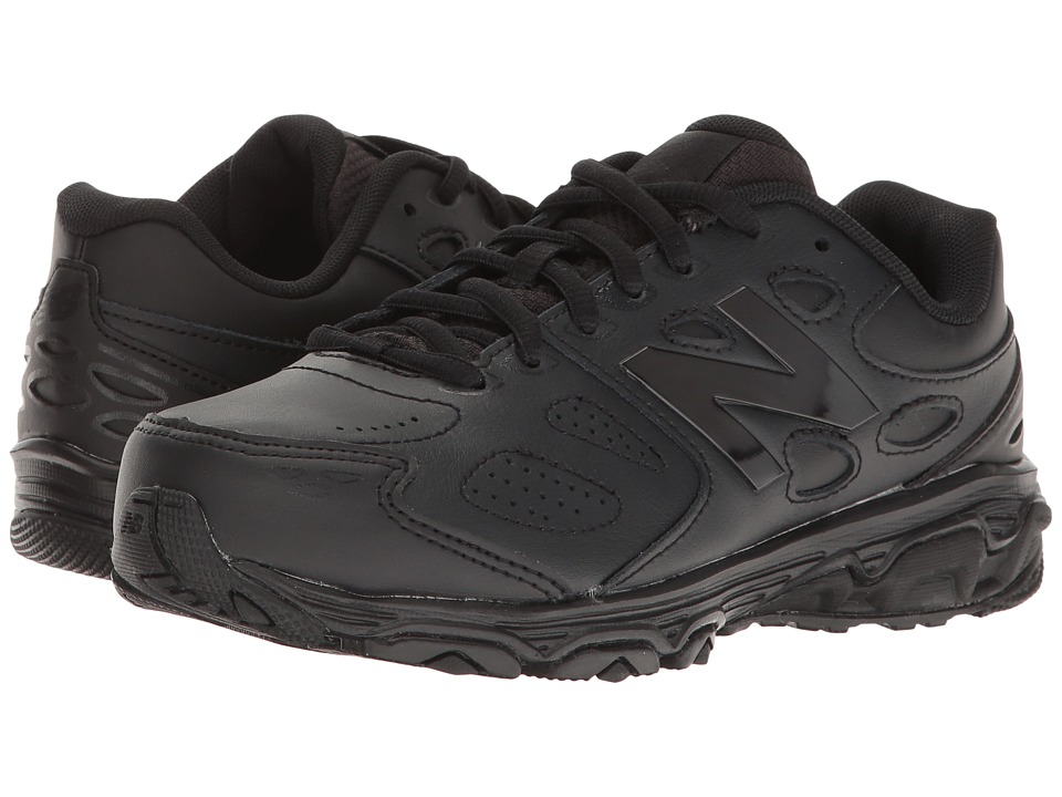 New Balance Kids KX680v3 (Little Kid/Big Kid) (Black/Black) Kid's Shoes