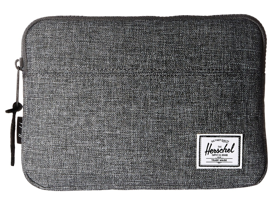 Herschel Supply Co. Anchor Sleeve for iPad Mini (Raven Crosshatch) Computer Bags