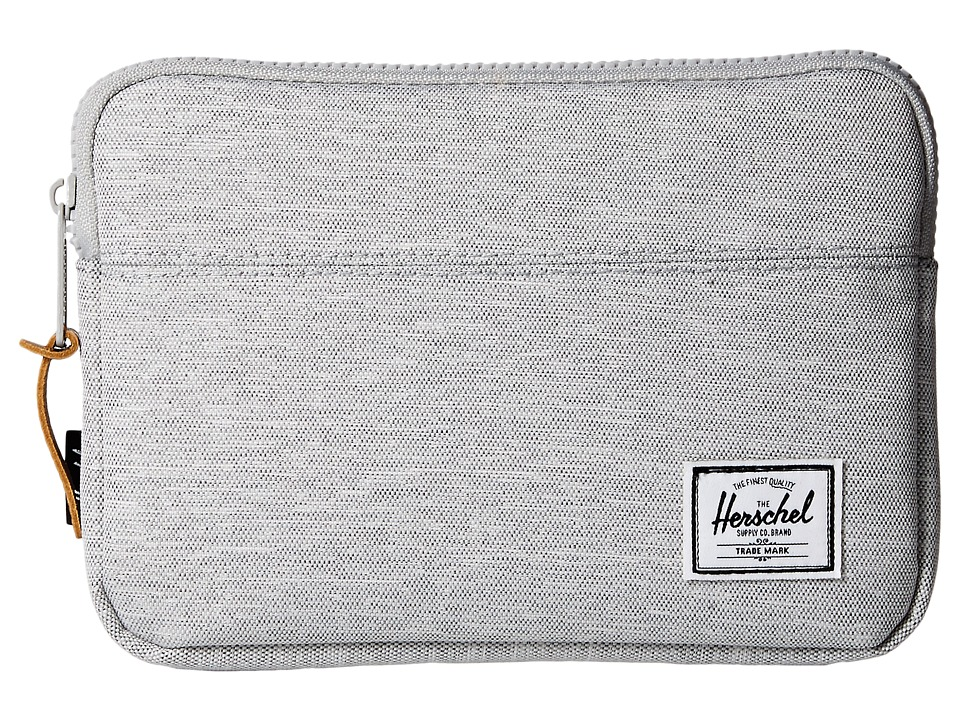 Herschel Supply Co. Anchor Sleeve for iPad Mini (Light Grey Crosshatch) Computer Bags