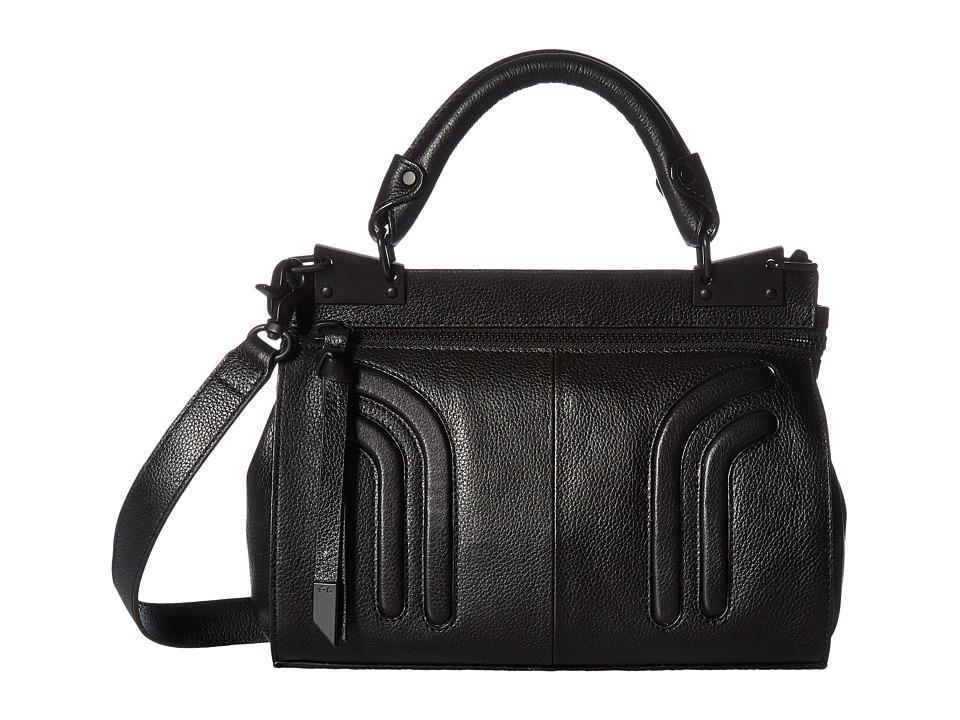 Foley & Corinna Stephi Mini Messenger (Black) Messenger Bags