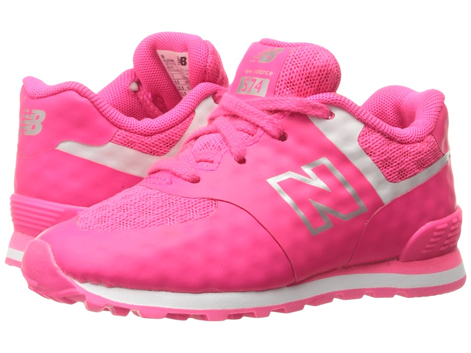 New Balance Kids 574 Breathe (Infant/Toddler) (Pink/Grey) Girls Shoes
