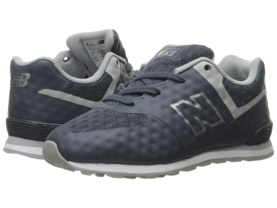 New Balance Kids 574 Breathe (Infant/Toddler) (Grey/Grey) Boys Shoes