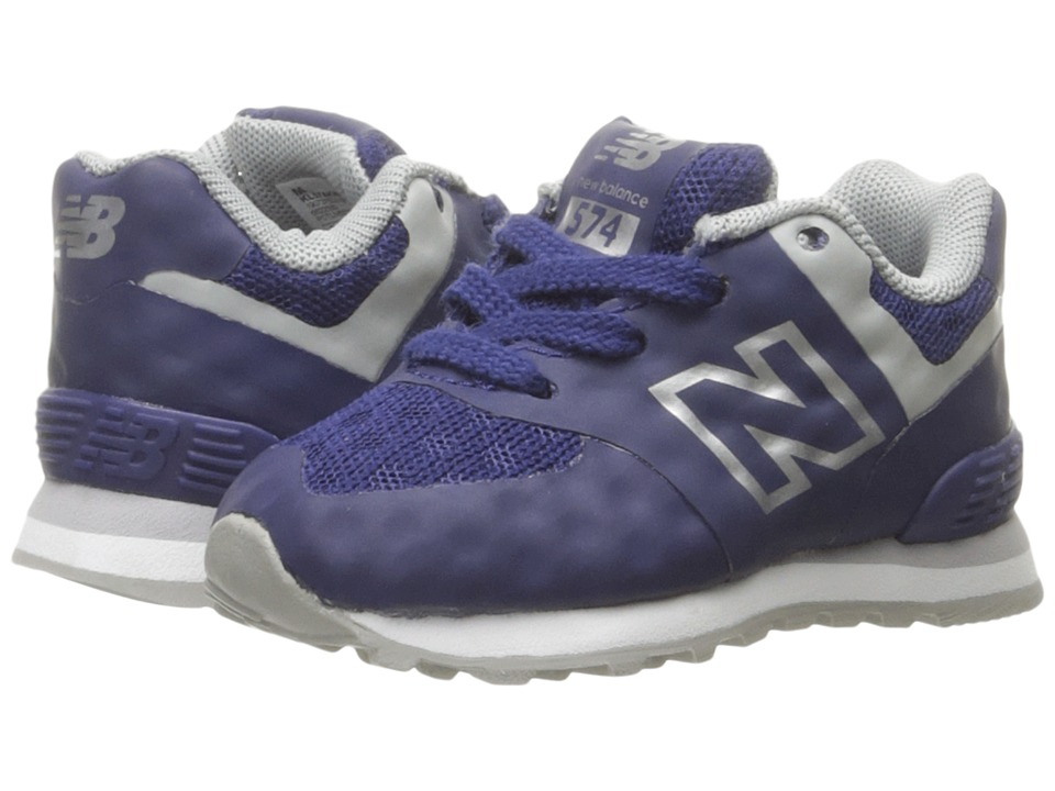 New Balance Kids 574 Breathe (Infant/Toddler) (Blue/Grey) Boys Shoes