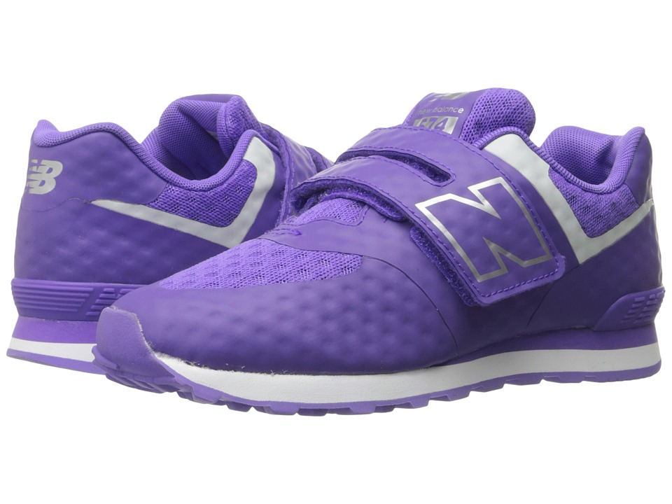 New Balance Kids 574 Breathe HL (Little Kid/Big Kid) (Purple/Grey) Girls Shoes