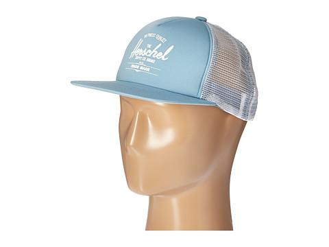 Herschel Supply Co. Whaler Mesh - Stone Blue/White