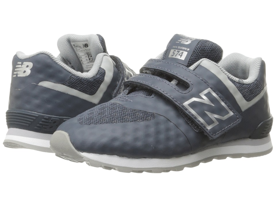 New Balance Kids 574 Breathe HL (Infant/Toddler) (Grey/Grey) Boys Shoes