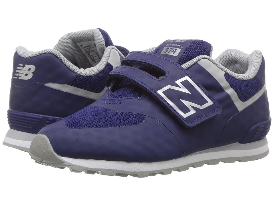 New Balance Kids 574 Breathe HL (Infant/Toddler) (Blue/Grey) Boys Shoes