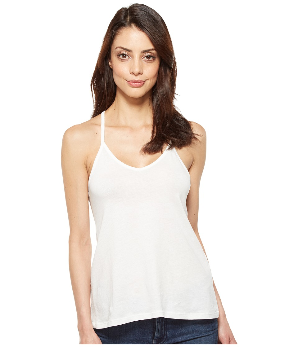 Alternative Alternative - Satin Jersey Strappy Tank