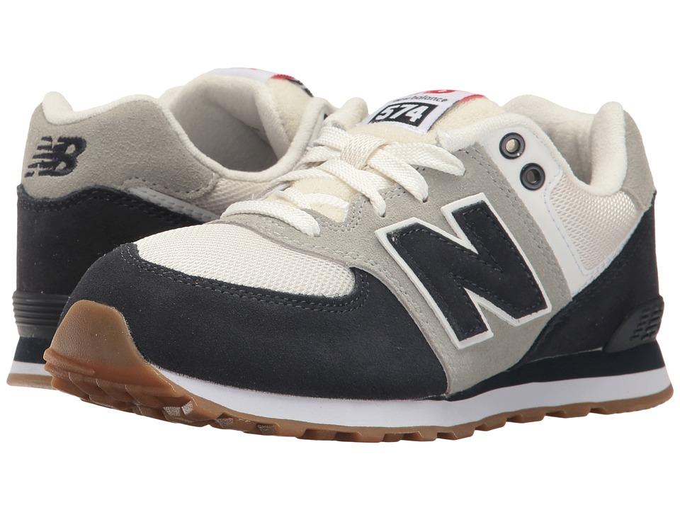 New Balance Kids KL574v1 (Big Kid) (Blue/White) Boys Shoes
