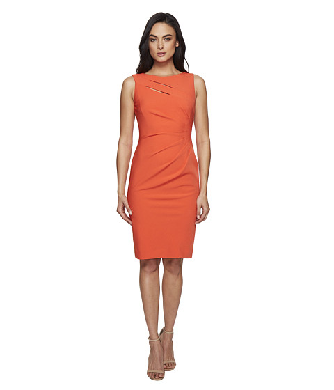 Tahari by ASL Sheath w/ Double Bodice Cut Out
