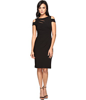 Tahari by ASL - Cold Shoulder Bodice Cut Out Sheath