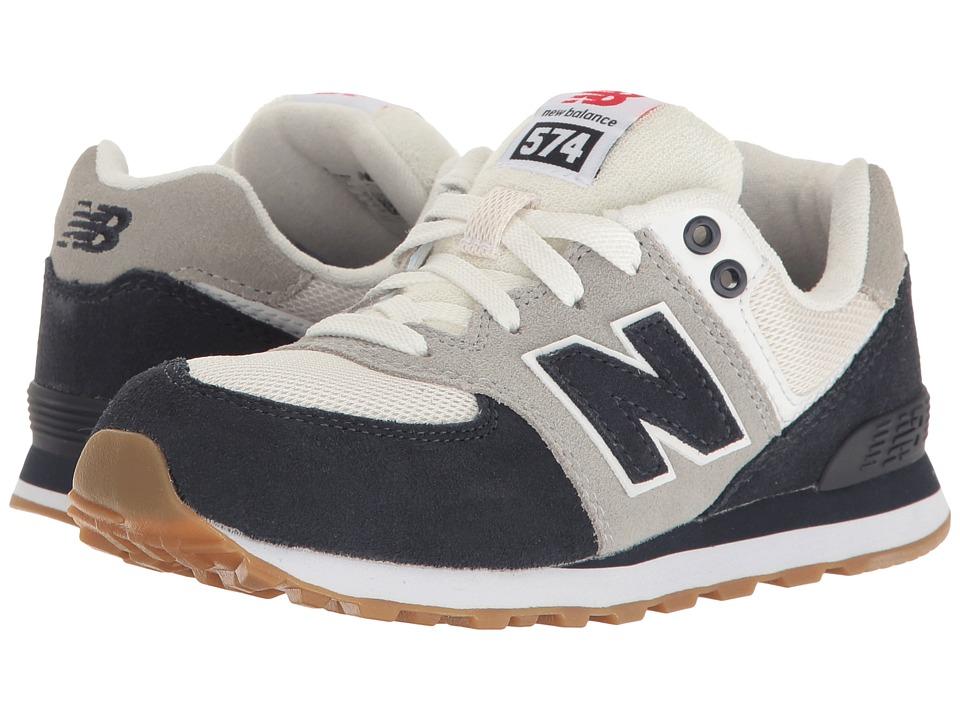New Balance Kids KL574v1 (Little Kid) (Blue/White) Boys Shoes