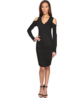 Lanston - Cut Out V-Neck Dress