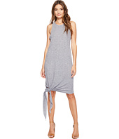 Lanston - Asymmetrical Midi Tie Dress