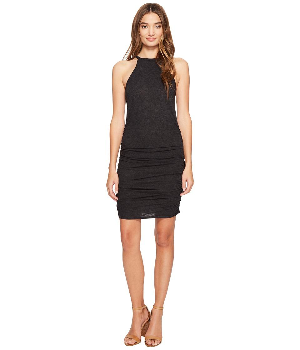 Lanston - Ruched Halter Dress