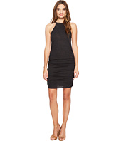 Lanston - Ruched Halter Dress