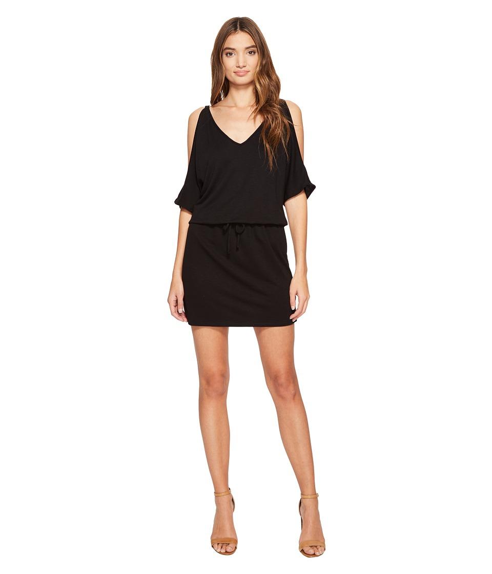 Lanston - Cold Shoulder V-Neck Dress