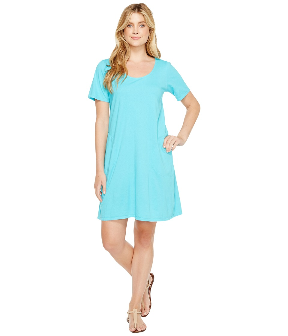 Fresh Produce - Allure T-Shirt Dress (Luna Turquoise) Wom...
