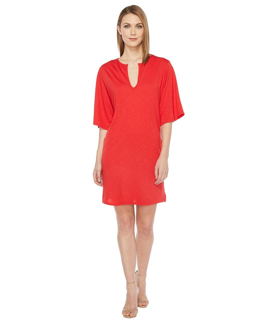 Lanston - V-Neck Caftan Dress