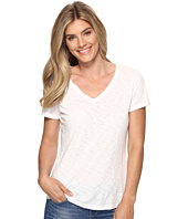 Dylan by True Grit - Gauzy Cotton Twist Neck Short Sleeve Tee