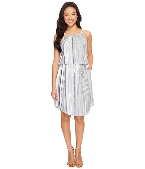 Dylan by True Grit Coast Stripes Strappy Dress