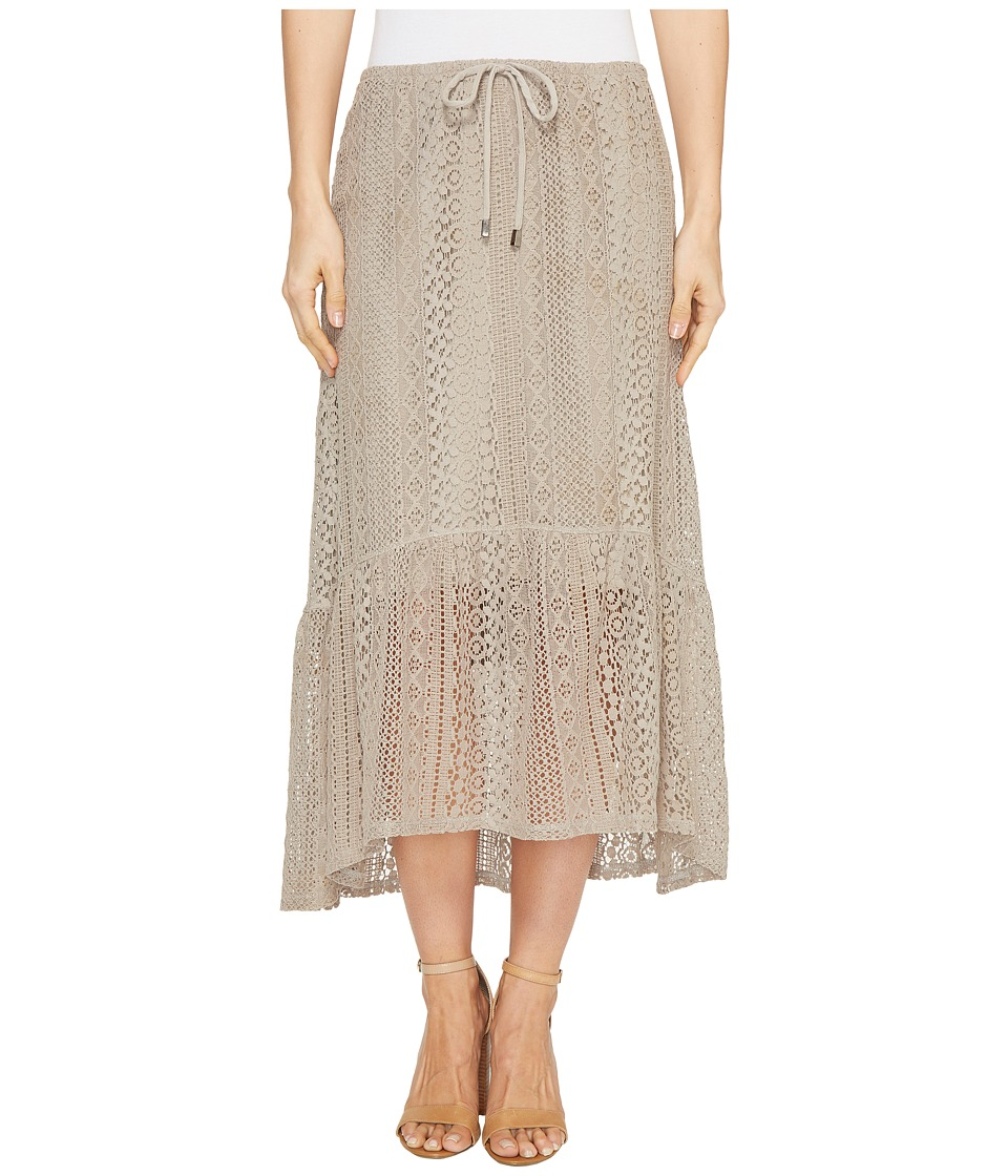 Dylan by True Grit - Sierra Lace Gypsy Skirt w/ Lining
