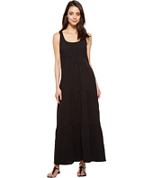 Dylan by True Grit - Smock Front Maxi Tiered Dress
