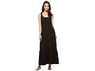Smock Front Maxi Tiered Dress