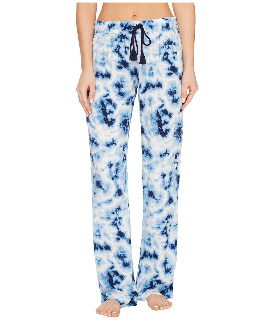 P.J. Salvage - Blue Batik Tie-Dye Lounge Pants