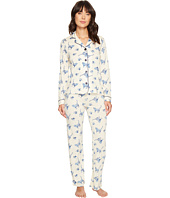 P.J. Salvage - Blue Batik Cat PJ Set