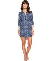 P.J. Salvage - Blue Batik Paisley Sleepshirt