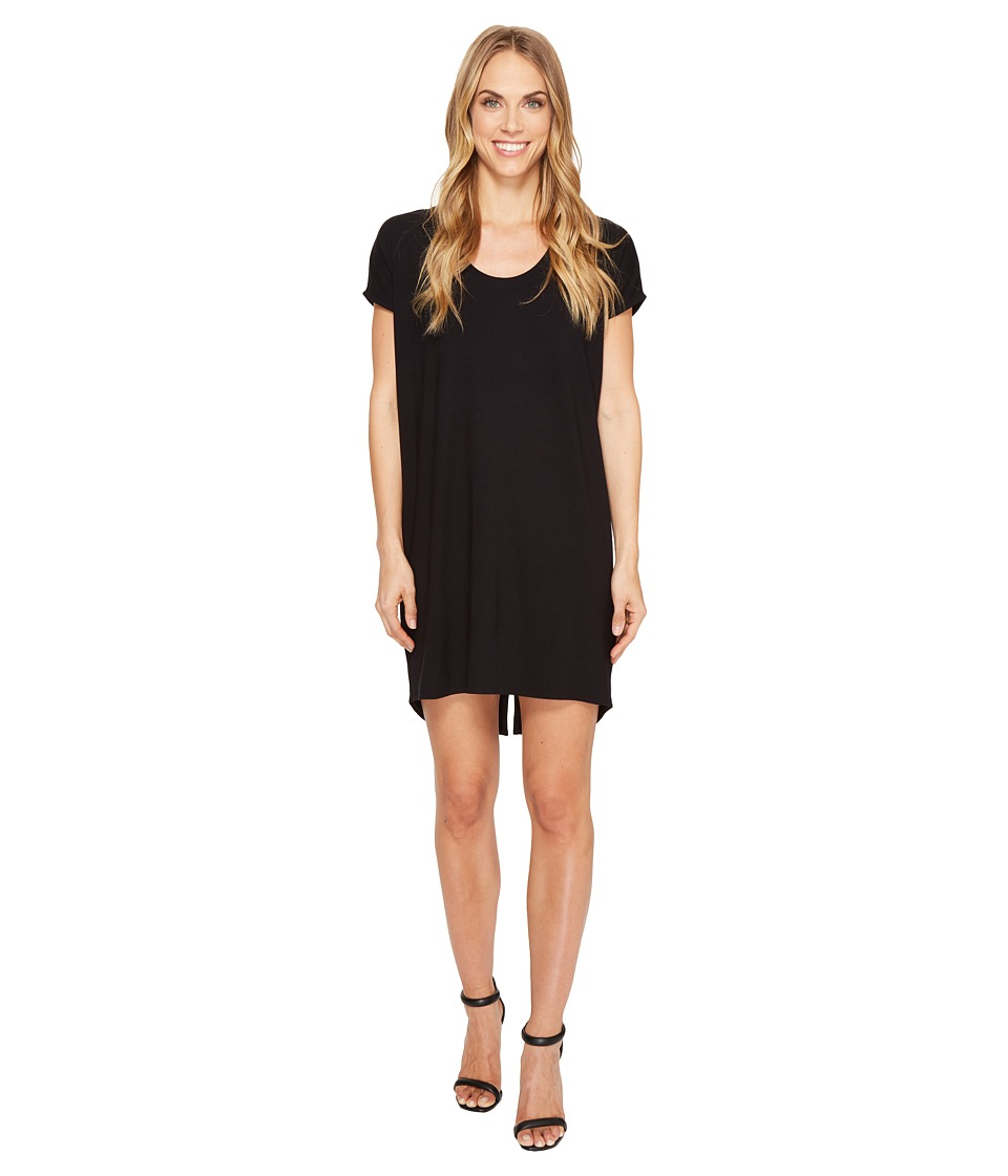 Lilla P Scoop Neck Dress (Black) Women