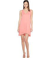 Lilla P - V-Neck Rib Trim Dress