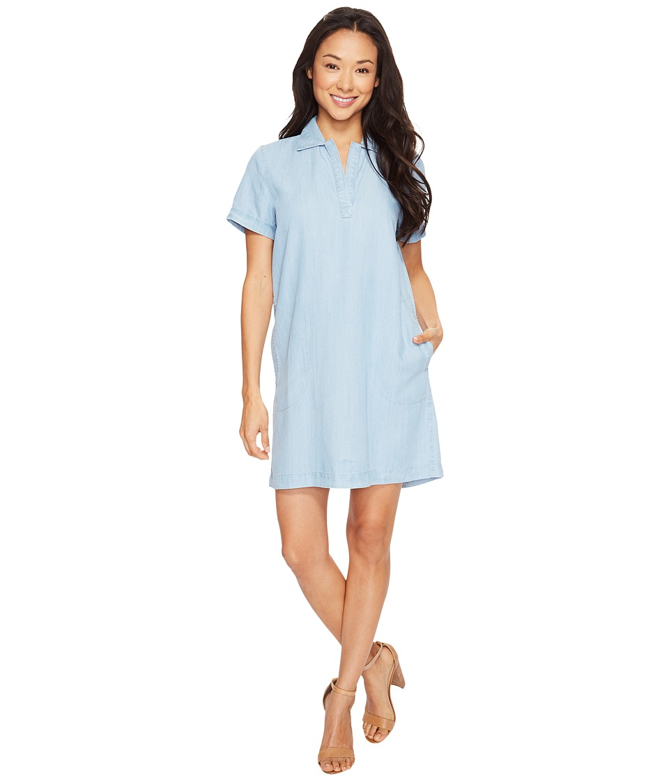 Lilla P Shirtdress (Light Chambray) Women