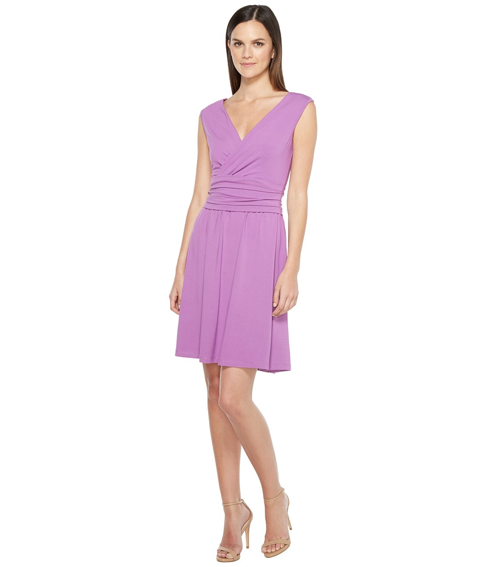 Lilla P Shirred Waist Dress (Mulberry) Women