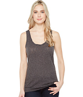 Dylan by True Grit - Gauzy Cotton Tank Top w/ Twisted Neck