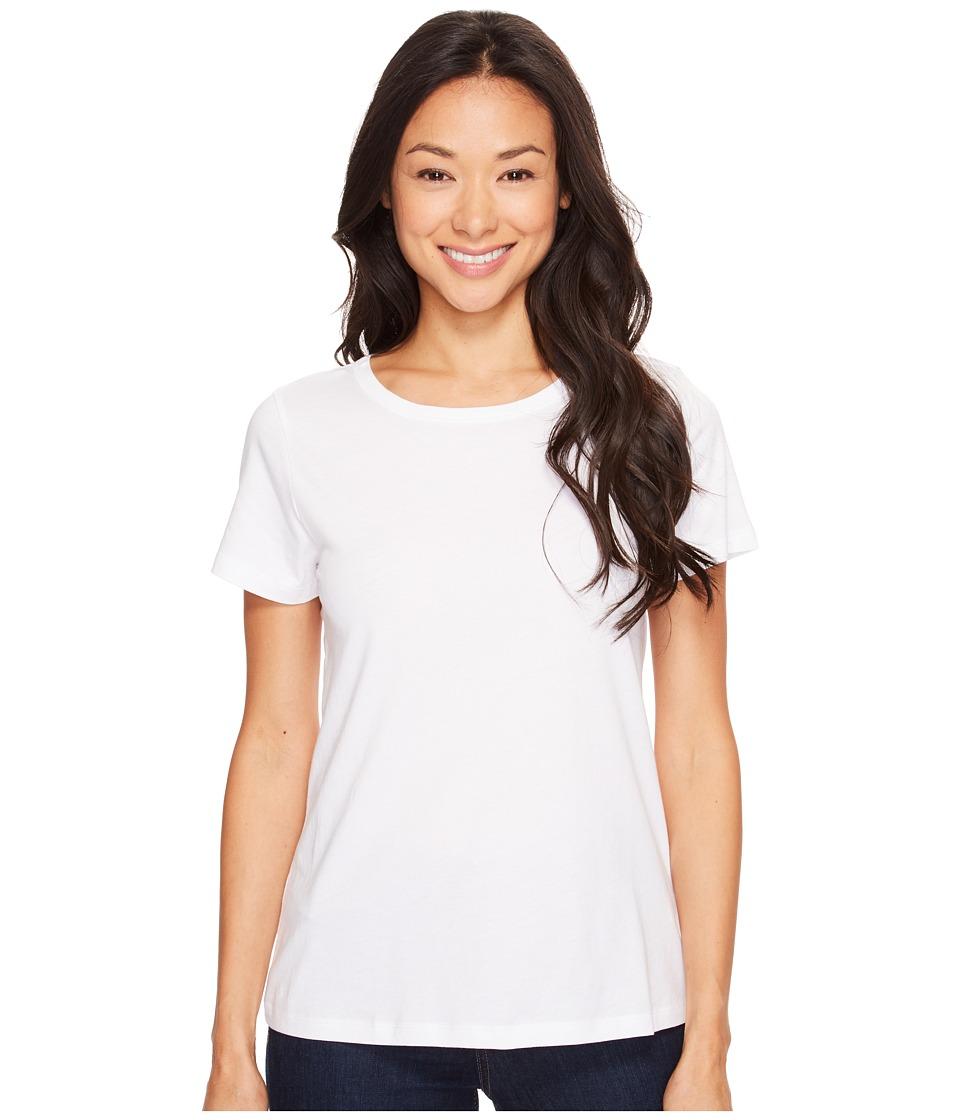 Lilla P - Pima Jersey Short Sleeve Jewel Neck Top