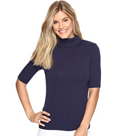 Lilla P - Elbow Sleeve Turtleneck