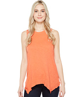 Dylan by True Grit - Soft Slub Cotton Hanky Hem Tank Top