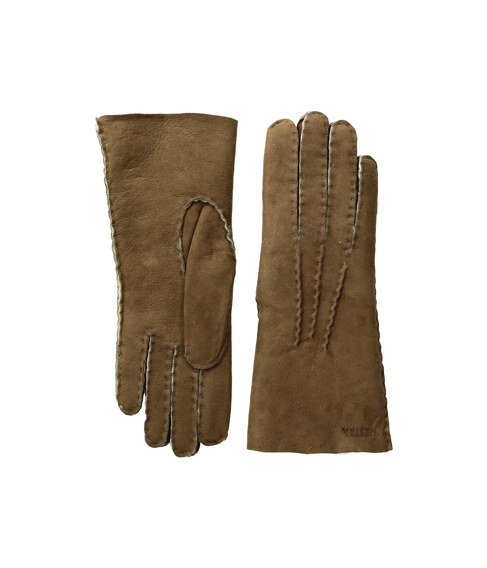Hestra Sheepskin Gloves (Beige) Ski Gloves