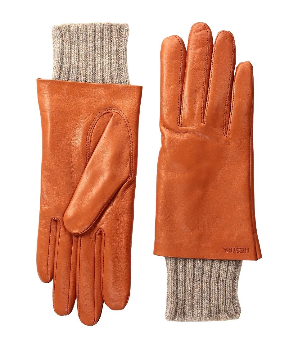 Hestra Megan (Orange) Dress Gloves