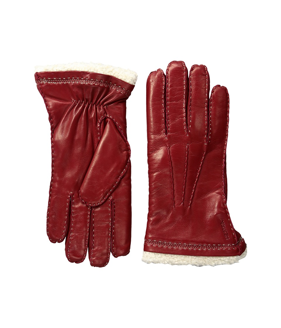 Hestra Claire (Red) Dress Gloves