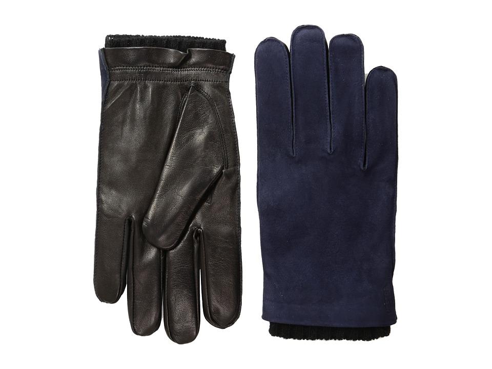 Hestra Dylan (Blue/Black) Dress Gloves