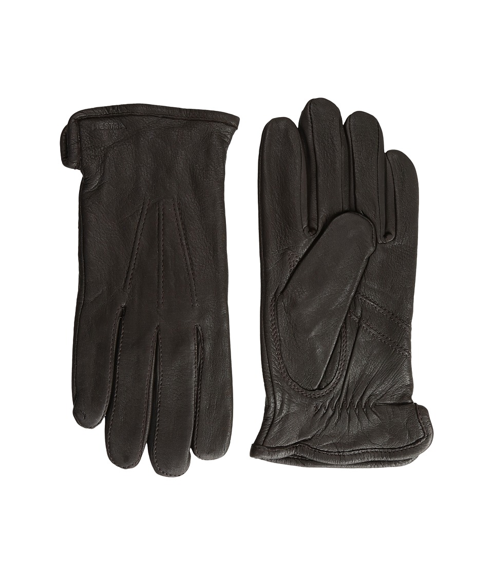 Hestra Andrew (Dark Brown) Ski Gloves